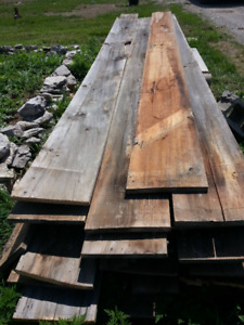 Barn Wood, Antique, Hand Hewn ,Gray Boards, Lumber, Poles