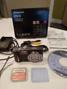 Panasonic Lumix Digital DMC-ZS8 Camera - like new