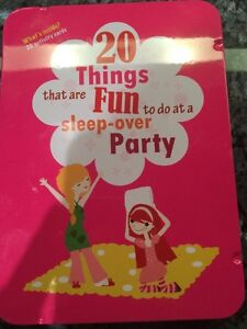 20 things that are fun to do at a sleep over party Strathcona County Edmonton Area image 1