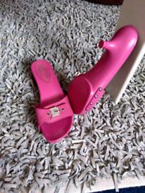 Mules-pink-heeled