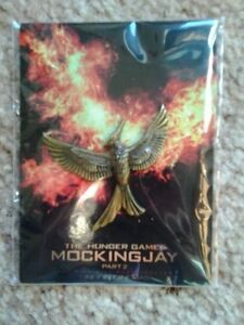 Hunger Games : Mockingjay Part 2 pin - never opened - metal