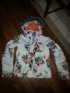 Women's xs/sm snowboarding jacket and pants