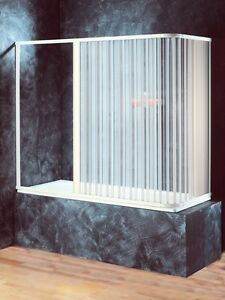 Cabina box doccia sopravasca coprivasca sopra vasca 2 lati - Box doccia chiuso sopra ...