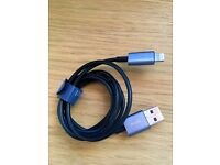Moshi 1m Lightning Cable for iPads & iPhone 5/6