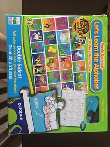 Let's Learn the Alphabet 50-piece Puzzle Strathcona County Edmonton Area image 1