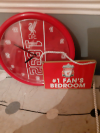 Lfc clock and door sign