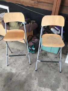 Three IKEA Kitchen Stools For Sale