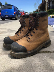Steel Toe Boots - Size 9 - Like new!!!