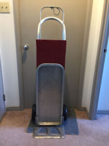 Magliner Aluminum Hand Truck Hotel Luggage Red Dolly