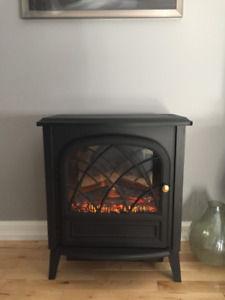 Space Heater Fireplace - Ideal for a bedroom