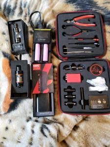 E-cigarette equipment