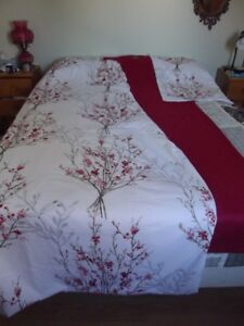 Duvet cover with drapes for sale