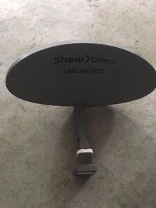 Coupole et 2 décodeurs HD Shaw Direct