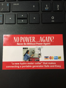 NEVER BE WITHOUT HYDRO AGAIN  0% Down 0% Interest!