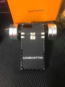 Iphone 7/8/X & 7/8 Plus Rare Lv-11 Leather Cases new