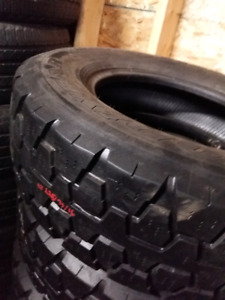 LT225/75/R16 GOODYEAR E RATED TIRES