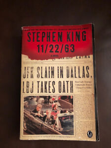 Stephen King's 11/22/63 book