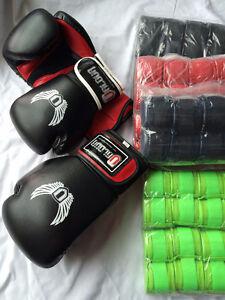 Boxing Gloves // Handwraps // Boxing Hand Wraps // 16oz Gloves
