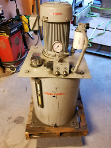 5HP Hydraulic Power Pack. Large Reservoir