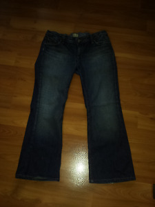 Three Pairs of Maternity Jeans - Size Large