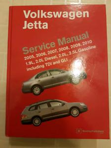 Volkswagen Jetta Service Manual 2005 - 2010