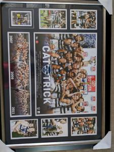 AFL memorabilia. Geelong cats / Carlton