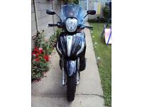 Piaggio Beverly ST 350 – 2015 Year -ONE OWNER FROM NEW-LOW MILEAGE – BARGAIN