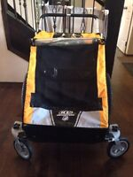 Chariot double stroller Cheetah 2