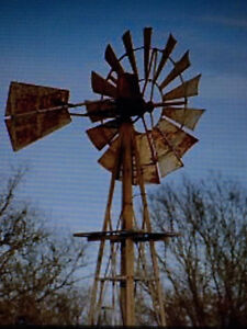 Wanted : An Old Rusted Windmill for Yard Decoration