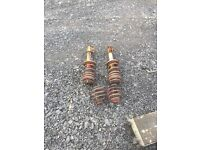 Vauxhall nova front shocks and rear springs