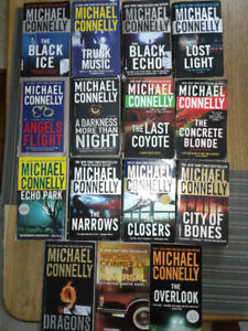 Michael Connelly paperbacks