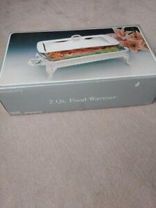 2 Qt. Silver plated Food Warmer / Server