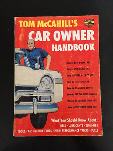 vintage 1956 Car Owner Handbook Tom McCahill