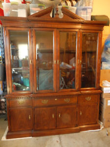 Kaufman Cherry Buffet & Hutch