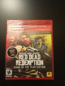 Brand New Sealed Red Dead Redemption GOTY PS3
