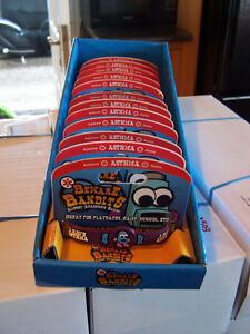 Case of 12 Beware Bandits Asthma Allergy Awareness Bands