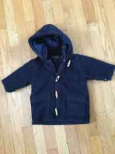Children's Place warm winter coat with zipper & toggle buttons West Island Greater Montréal image 2