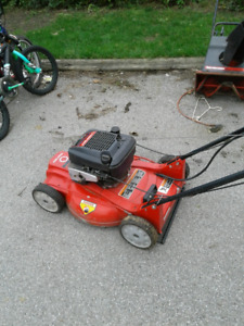 Refurbished self propelled lawnmower