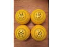 Rare yellow Taylor spectrum bowls