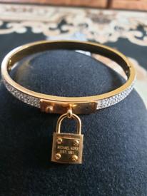 Genuine Michael Kors padlock bangle