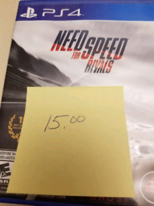 Need for.speed rivals ps4