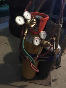Oxy Acetylene Torch with Bottles