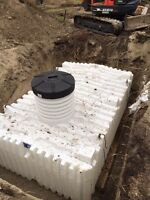 SEPTIC TANKS/FIELDS. HOLDING TANKS. WATER WELLS.