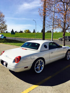 2002 Ford Thunderbird Hard top-soft top Convertible
