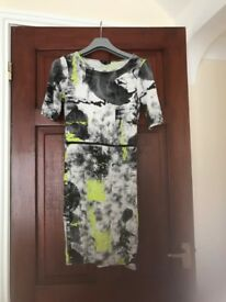 Size 10 top shop dress