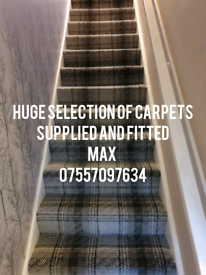Carpets vinyl flooring and laminate flooring supplied and fitted
