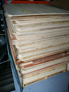 plywood for sale $1 for each piece