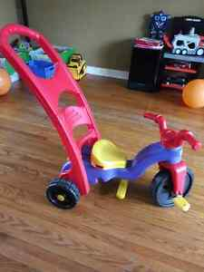 LEARN TO PEDAL TIKES CONVERTABLE TO ROCKER Kitchener / Waterloo Kitchener Area image 2