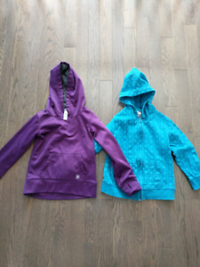 Girls hoodies- size 6- both for $10