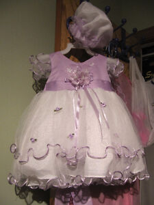 Purple tou-tou dress for Baby Girl 3-6 months & Ballerina Shoes West Island Greater Montréal image 2